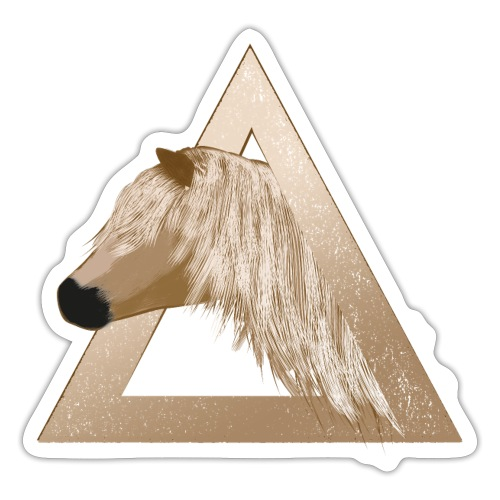 Haflinger - Sticker