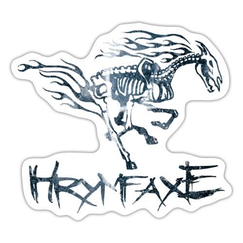 Hrymfaxe - sort is - Sticker