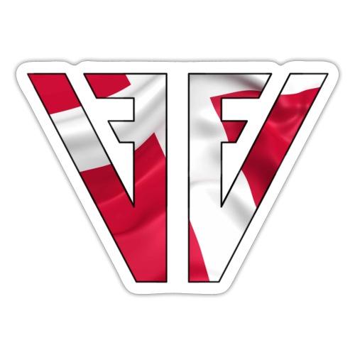 VFFV - Dannebrog - Sticker