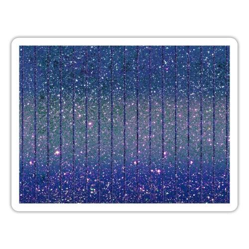 Burlesque Glitzer Glitter Feenstaub Blau - Sticker