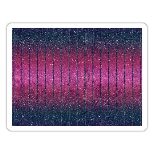 Glitter Muster in Pink rosa Blau schillernd Chic - Sticker
