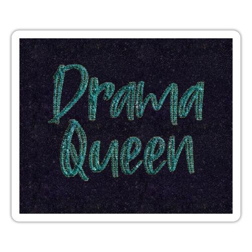 Drama Queen Glitter Gesichtsmaske - Sticker