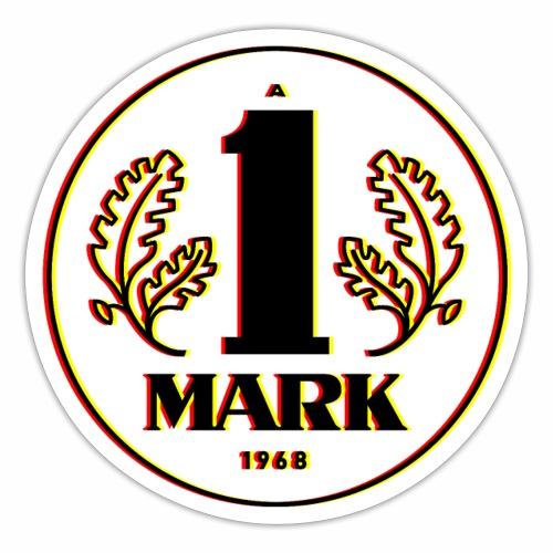 Ostmark 3D black red gold - Sticker