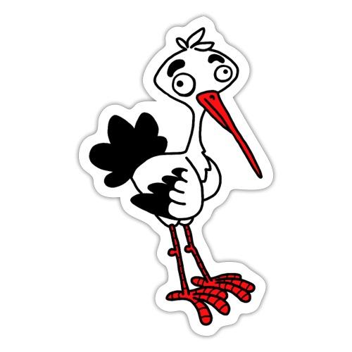 Storch von dodocomics - Sticker