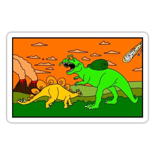 Schneckosaurier von dodocomics - Sticker