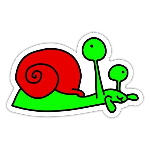Schnecke Nr 207 von dodocomics - Sticker