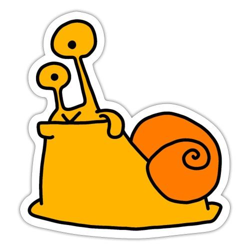 Schnecke Nr 21 von dodocomics - Sticker