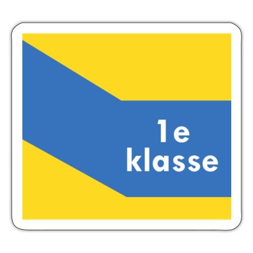 1ste klasse - Sticker