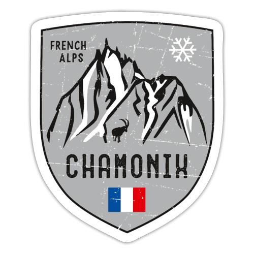 Chamonix France coat of arms - Sticker