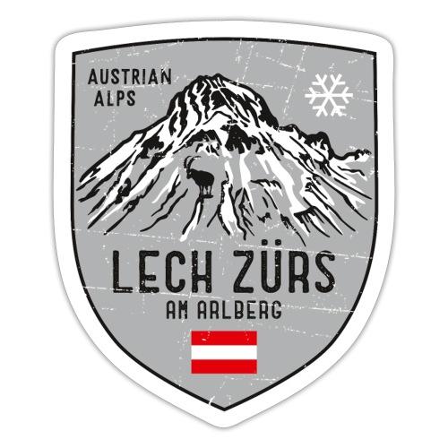 Lech Zürs Austria coat of arms - Sticker