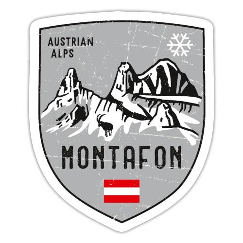 Montafon Austria coat of arms - Sticker