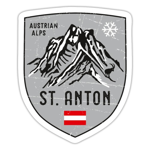 St. Anton Austria coat of arms - Sticker
