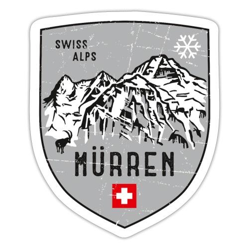 Murren Switzerland coat of arms - Sticker