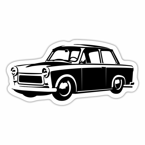 Trabant 601 tuning - Sticker