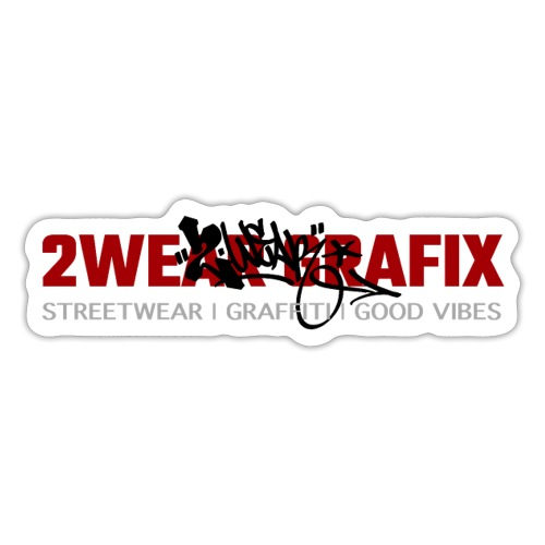 2wear Grafix Box Logo - Sticker