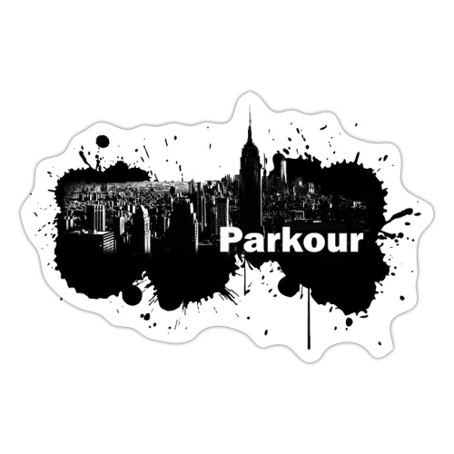 Parkour Splash New York - Sticker