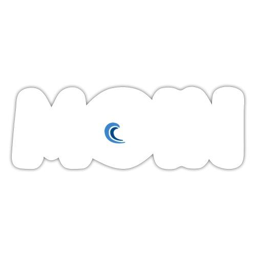 Moin mit Welle - Sticker