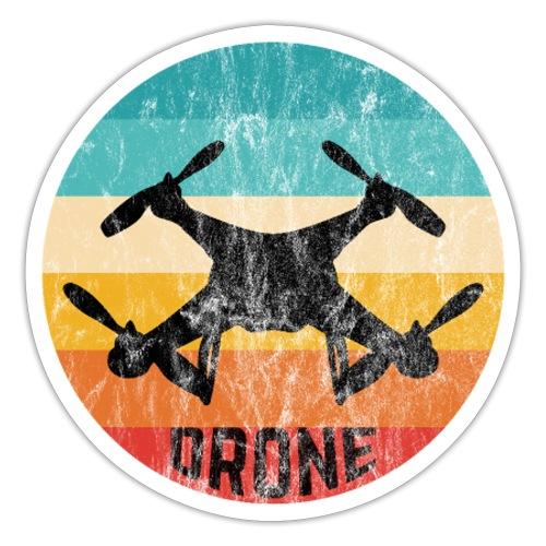 Retro Drohne Geschenke für Drohnenpiloten - Sticker