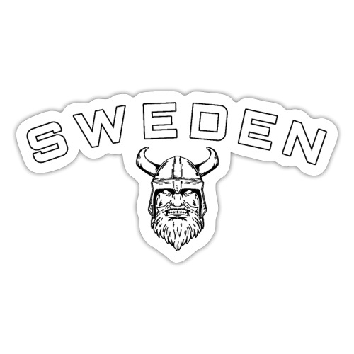 Sweden Viking - Klistermärke