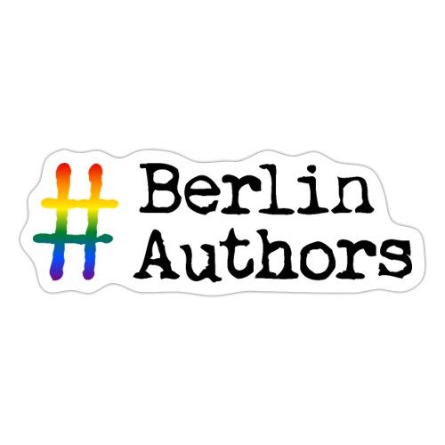 BerlinAuthors Logo Rainbow - Sticker