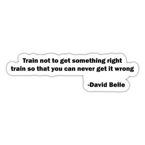 Train not to get something right train to... - Sticker