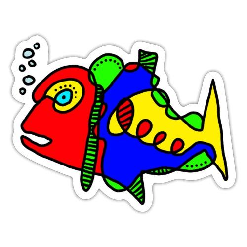 Tusche Fisch - Sticker
