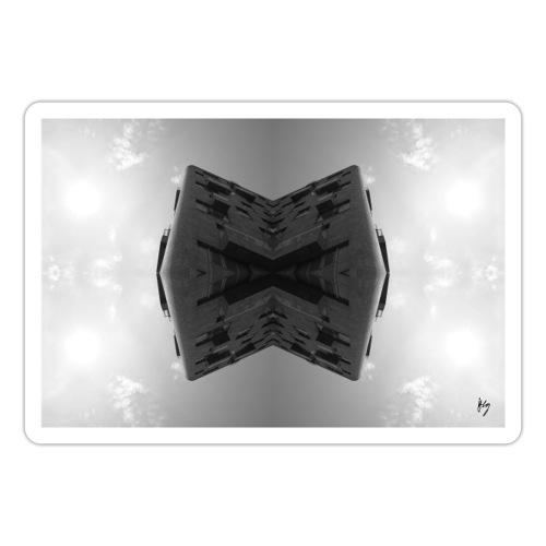 Grey cuBe - Sticker