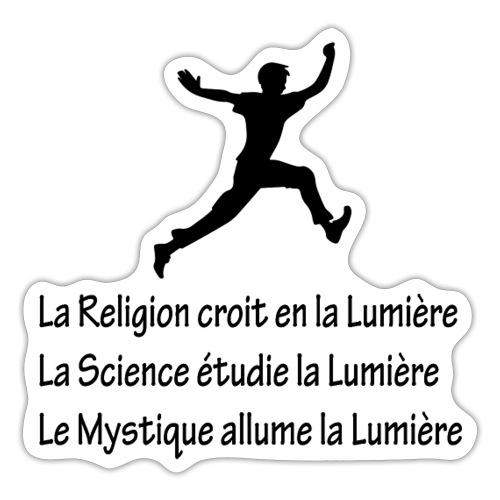 Lumière Religion Science Mystique - Autocollant