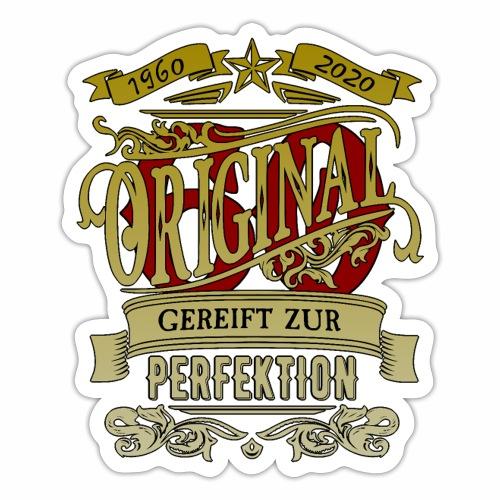 Original 60 Gereift zur Perfektion für Oma und Opa - Sticker