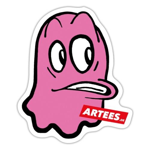 Artees GHOST Pink - Sticker