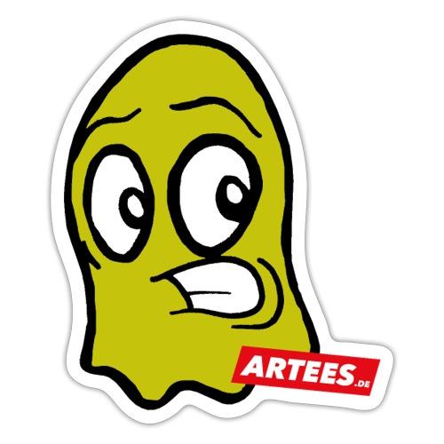Artees GHOST Yellow - Sticker