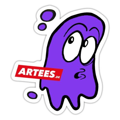 Artees GHOST Purple - Sticker