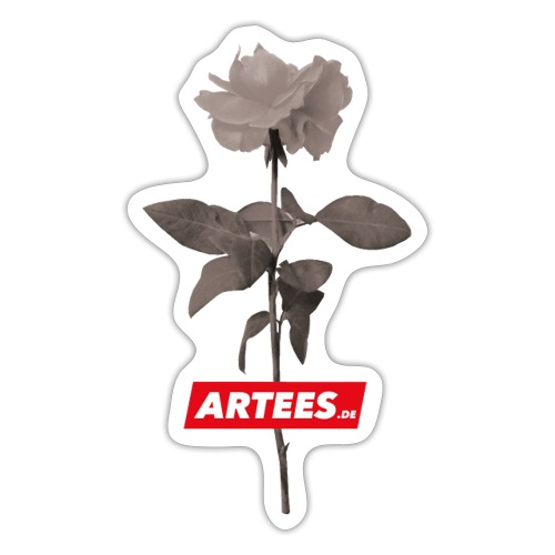 Be ARTEES.DE Rose - Sticker