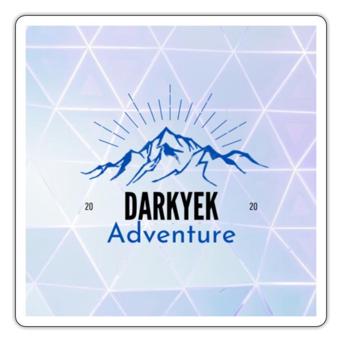 Darkyek Adventure 2020 - Pegatina
