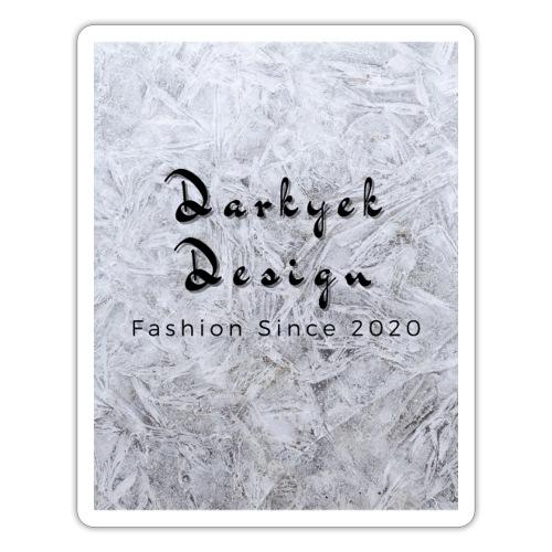darkyek desing logo 2 0 - Pegatina
