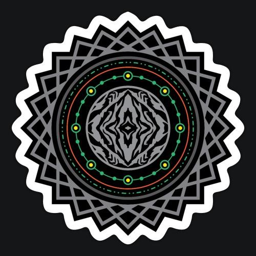 Sangoma Sacred Tech 2 Stickers - Sticker