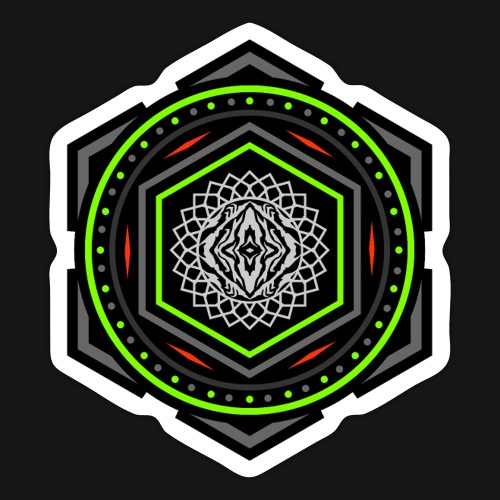 Sangoma Sacred Tech 3 sticker - Sticker