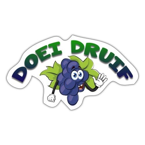 DOEI DRUIF MERCHANDISE - Sticker