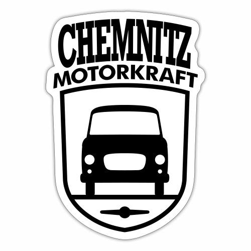 Barkas B1000 Motorkraft Chemnitz coat of arms - Sticker