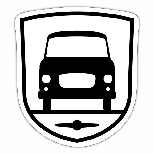 Barkas B1000 coat of arms - Sticker