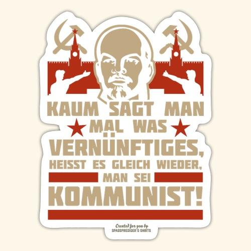 Sprüche T-Shirt Lenin Kommunist - Sticker