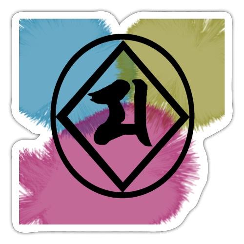 Logo Japones color - Pegatina
