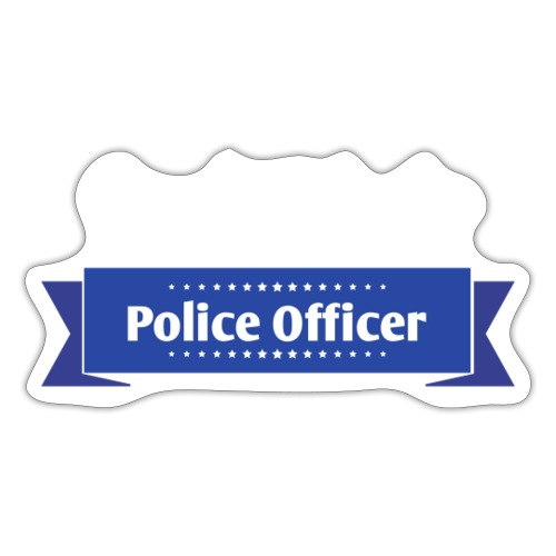 Proud Wife of a Police Officer - Autocollant