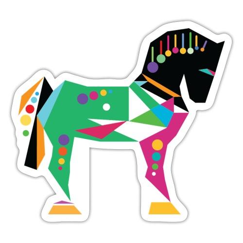 Cavallo di Troia Decorato - Adesivo