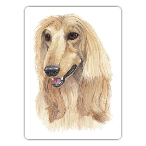 Afghan hound sticker - Sticker