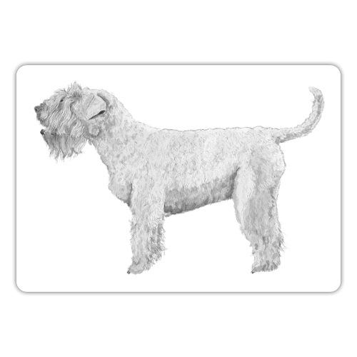 irish Soft Coated Wheaten terrier sticker - Sticker