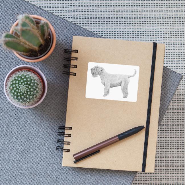 irish Soft Coated Wheaten terrier sticker
