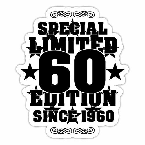 Special Limited Edition Since 1960 Geschenk Ideen - Sticker