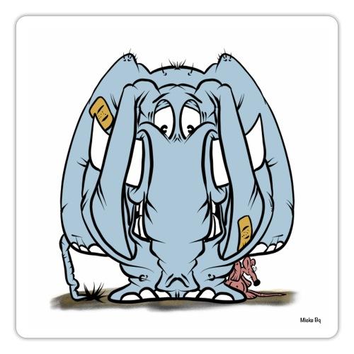 Suckofant - Klistermärke