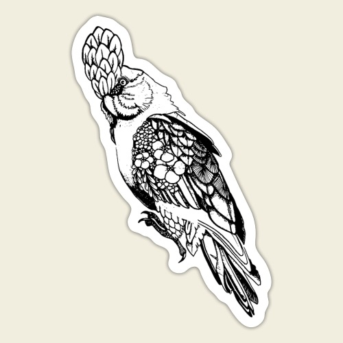 Kakadu - Sticker